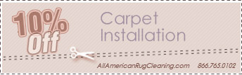 Carpet Installation Coupons